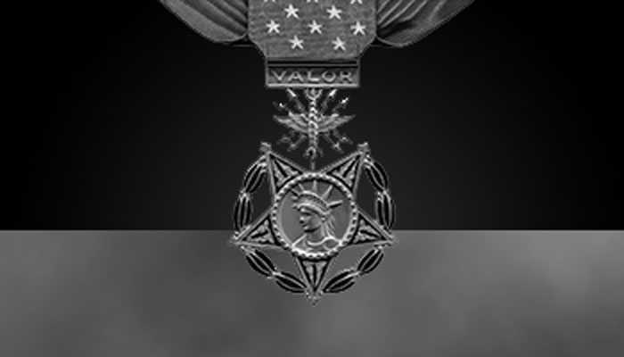 Air Force Medal of Honor (greyscale)