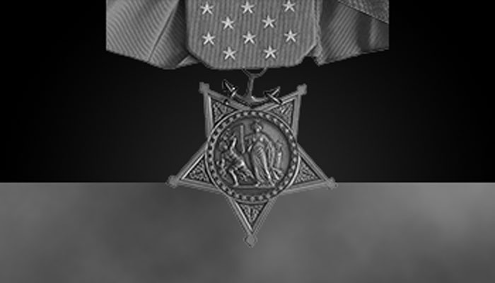 Navy Medal of Honor (greyscale)