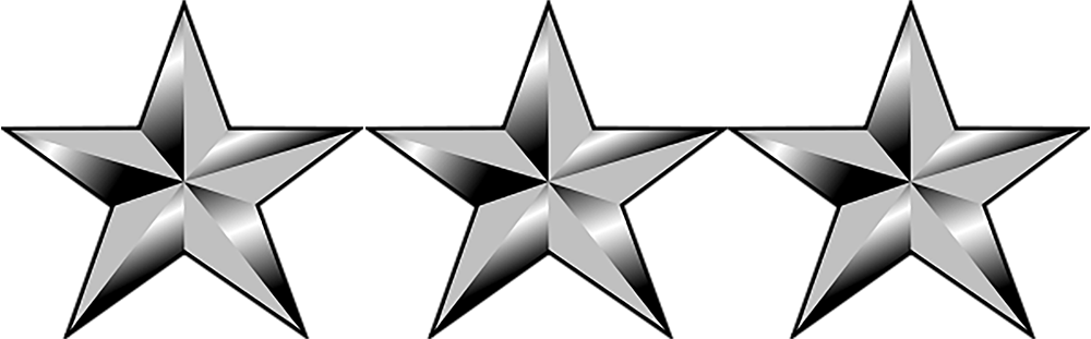 air force lieutenant general icon
