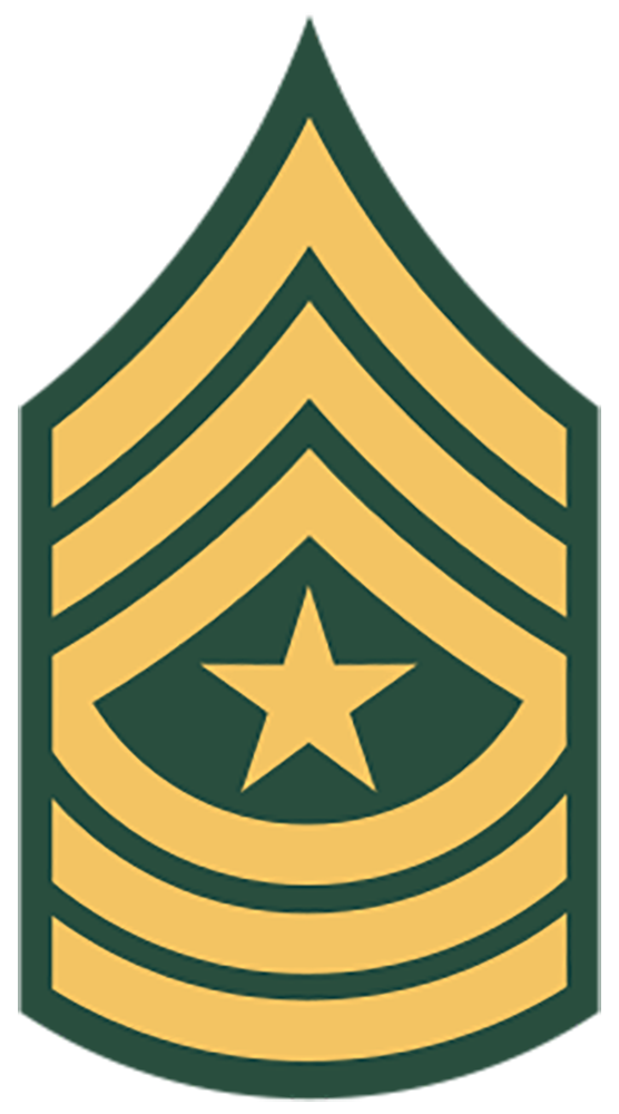 E-9 Sergeant Major